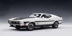 1971 Mustang Mach 1 Diecast Scale Model by Autoart