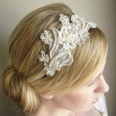 Wedding Headband idea