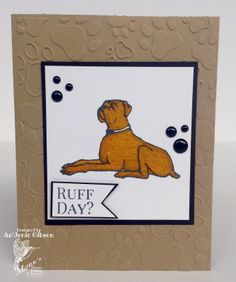 Pet Lovers card Mark's Finest Papers March Blog Hop: Fabulous Pets.  #petcard #dogcard #cards #card @Mark's Finest Papers a HC