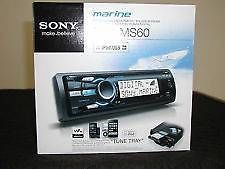 Sony DSX-MS60 Marine BOAT WMA/AAC IPOD DIGITAL PLAYER +FREE CELL ANTENNA #Sony