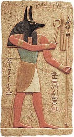 Anubis Plaque