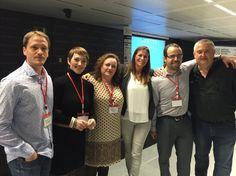 De izquierda a derecha tenemos a Roger Bretau (@rogerbretau), Èlia Guardiola (@EliaGuardiola), Alicia Rodríguez (@arou26), Mireya Trias (@MireyaTriasMonl), Miguel Florido (@miguelfloro) y Rafa Sospedra (@rafsos) en ESADE Creapolis Sant Cugat, Barcelona. #IMDBCN2015 #inboundmarketing #marketing #marketingdigital #socialmedia #socialdigitalmarketing #communitymanager #redessociales #enredia