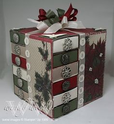 countdown to Christmas...got one of these for a Christmas gift.  It is SO AWESOME!  Thanks Marsha :-)