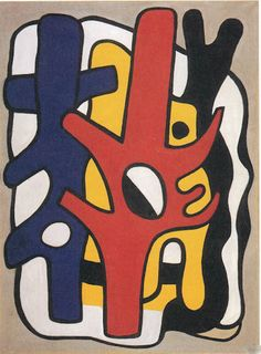 Composition by Fernand Leger