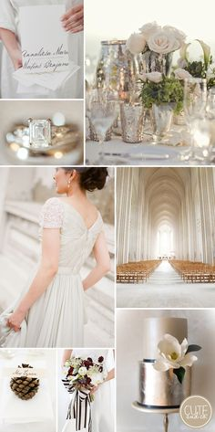 Winter Wedding Inspiration by Cute & Co.
