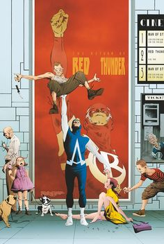 ANIMAL MAN #20 Written by JEFF LEMIRE Art by JOHN PAUL LEON and STEVE PUGH Cover by JAE LEE On sale MAY 1 • 32 pg
