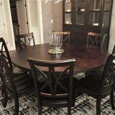 Round Tables Joliet, IL - Rustic Elements Furniture 60 Inch Round Table, Round Tables, Custom Furniture, Dining Table, Rustic, Building, Wood, Home Decor, Bespoke Furniture