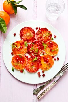 orange carpaccio #recipe