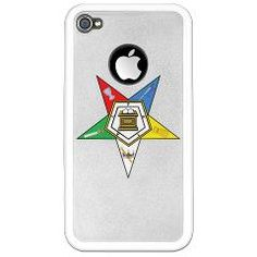 OES iPhone 4 Clear Case> Order Of The Eastern Star Gifts and Clothing> The Masonic Shop