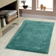 Spa Gram Tri Navy X Bath Rug Set Of Overstock - Overstock bathroom rugs for bathroom decorating ideas
