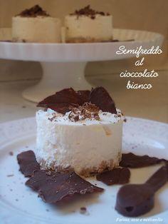Gennaio { #Vogliadi #cioccolato }  Semifreddo al cioccolato.  Chocolate semifreddo.