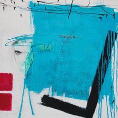 """Saatchi Art Artist Christa Hartmann; Painting, """"  BLICK  """" #art"""