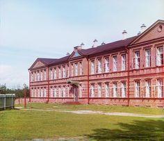 С. М. Прокудин-Горский. Леушинская [учительская] женская школа. 1909 год