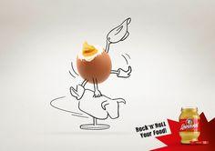 ロックンロールなマスタードを訴求するチャーミングな広告 | AdGang