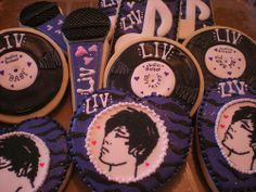 Justin Bieber Cookies