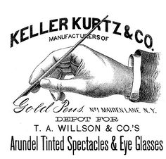 Victorian Clip Art - Hand with Pen - Advertising - The Graphics Fairy
