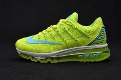 lowest price 3b935 61835 Find Latest Nike Air Max 2016 II Sneakers Nano TPU Material Fluorescent  Green Womens Running Shoes Online Sales 388703 online or in Lebronshoes.