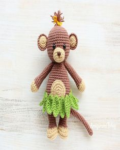 Mesmerizing Crochet an Amigurumi Rabbit Ideas. Lovely Crochet an Amigurumi Rabbit Ideas. Crochet Animal Patterns, Stuffed Animal Patterns, Crochet Patterns Amigurumi, Crochet Animals, Crochet Dolls, Crochet Hook Set, Knit Or Crochet, Crochet Baby, Crochet Monkey