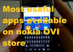 Check out most useful apps available on Nokia OVI Store