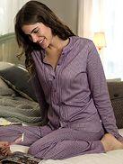 Calida Elina pyjama 89,95 e calida-shop.de - sininen!