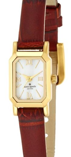 Kate Spade leather strap watch  http://rstyle.me/n/r2i86pdpe