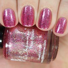 KBShimmer Pink Tourmaline   Peachy Polish