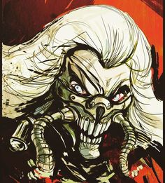 THE IMMORTAN JOE!!  Everyone's favourite warlord from me fave movie Mad Max:Fury Road ⚡️⚡️⚡️  This movie knocked 'Jaws' off my no.1 movie spot after many years and thousands of movies, blows me away every time!   #rewatching
