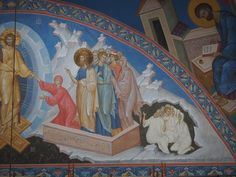 VK is the largest European social network with more than 100 million active users. Trinidad, Byzantine Icons, Fresco, Scene, Christian, Painting, Interiors, Icons, Middle Ages