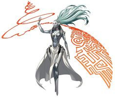 View an image titled 'Ariadne Persona Art' in our Persona 4 Arena art gallery featuring official character designs, concept art, and promo pictures. Character Creation, Character Concept, Character Art, Concept Art, Fantasy Inspiration, Character Inspiration, Drag, Another Anime, Science Fiction Art