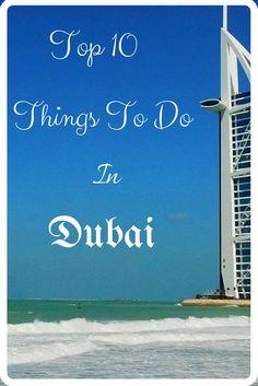 Top 10 things to do in Dubai Travel Expert, Travel Tips, Travel Info, Amazing Destinations, Travel Destinations, Bucket List Holidays, Dubai, Packing List Beach, Best Travel Deals