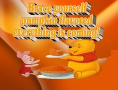 Pumpkin Flavored Everything