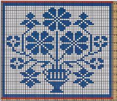 Ravelry: Potholder Flowers pattern by Regina Schoenfeldt