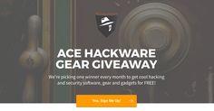 #Win @acehackware  $1,000 worth of lock picks, bump keys & surveillance gear! :) http://vy.tc/duC7423 #Sweepstakes