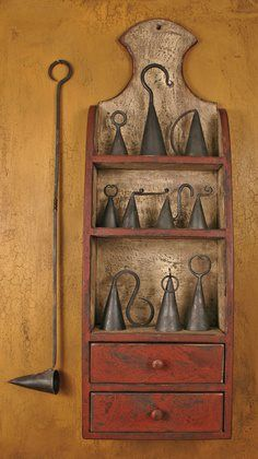 "candle snuffers - not really a ""kitchen"" collectible but it's a lovely display"