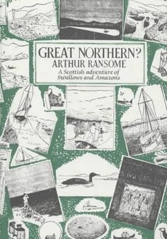 Read-at-Home Mom: Book Review: Great Northern? by Arthur Ransome (1947)