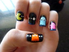 pacman nails!