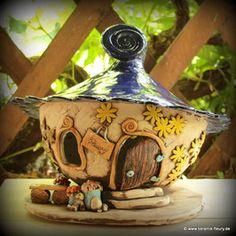 Keramik-Windlicht