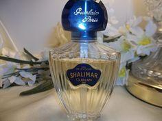 Vintage Guerlain Shalimar EDC Cologne Spray 1 oz 30 ml 85% Full Perfume #Guerlain