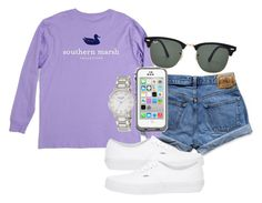 """""""I love this so much!!"""" by preppygirl13 ❤ liked on Polyvore featuring moda, Abercrombie & Fitch, Vans, Ray-Ban y Kate Spade"""