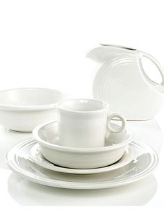 White Fiestaware collection.  Wanting to mix it up with another color, but don't know which!
