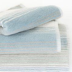 Sorbet Stripe Towels