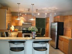 Kitchen remodel completed by J. J. Swartz Company - Decatur, Illinois