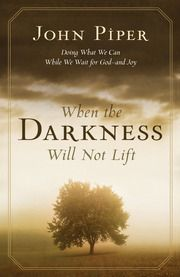 biblical Books on life issues - John Piper. (darkness, enemies, cancer, words, retirement, suffering) .