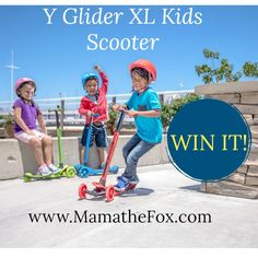 My Metro Lifestyle: GIVEAWAY ALERT: Win a Glider XL Kids Scooter