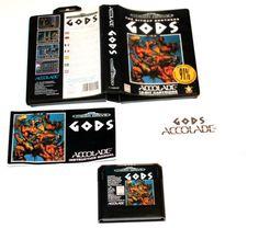 Sega Mega Drive Spiel Gods für Sega Mega Drive in OVP!
