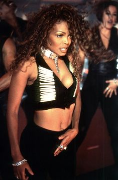 Videography: Janet Jackson Her name's not Baby, it's Janet. Jackson if you're nasty. Michael Jackson, Jo Jackson, Jackson Family, Janet Jackson 90s, Jermaine Jackson, Girl Bands, Performance Outfits, Beautiful Black Women, Beautiful People