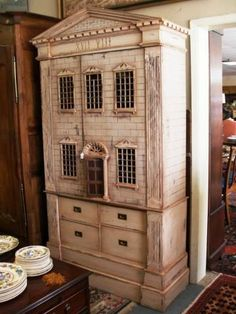 armoire cabinet style dollhouse - Life after the 1/6 scale dollhouse - Gallery - The Greenleaf Miniature Community
