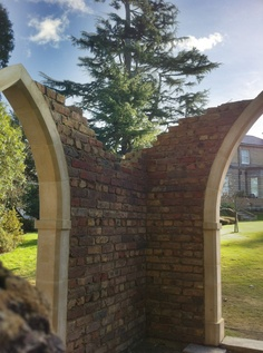 We recently designed and built this victorian folly, including casting the coins.