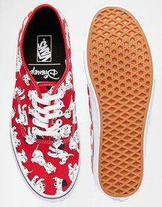 Image 3 of Vans x Disney Authentic 101 Dalmations Plimsolls