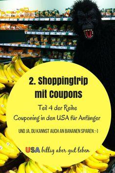 USA billig aber gut leben: 2. Coupon Shoppingtripp